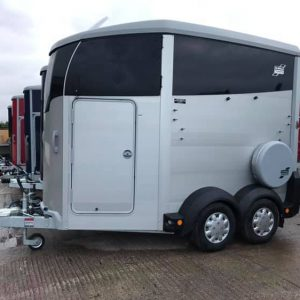 HBX506 Ifor Williams Horse Trailer In Silver - Brand New | Tuer Trailers, Carlisle, Cumbria