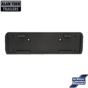 Ifor Williams Number Plate Holder Oblong P07993   Tuer Trailers, Cumbria