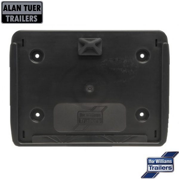 Ifor Williams Number Plate Holder Square P07994 | Tuer Trailers, Cumbria