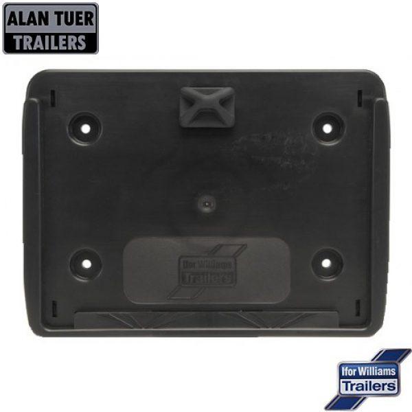 Ifor Williams Number Plate Holder Square P07994 | Tuer Trailers, Cumbria