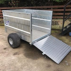 Ifor Williams Q5e Off Road Trailer - Brand New | Tuer Trailers, Cumbria