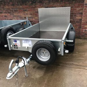 Unbraked Trailers