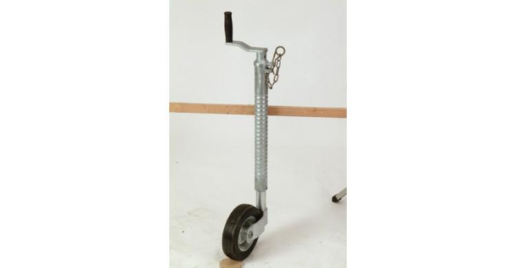 Ifor Williams 48mm Heavy Duty Ribbed Jockey Wheel Partcode: P0475 | Tuer Trailers