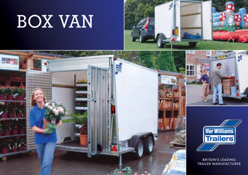Ifor Williams Box Van - View Full Brochure and Order | Tuer Trailers