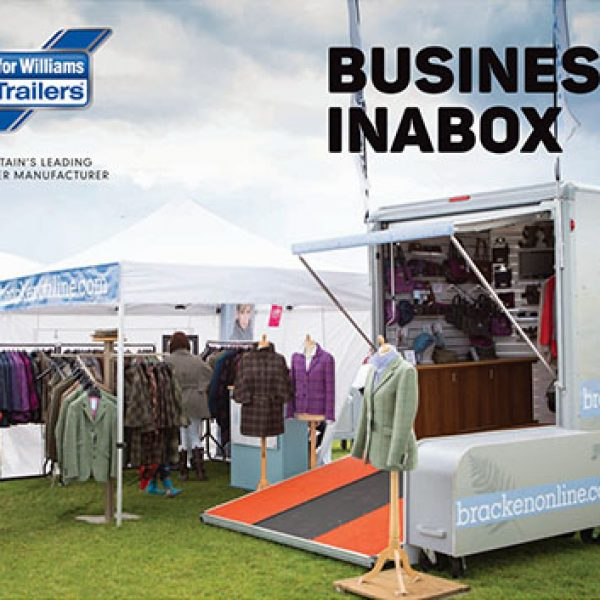 Business Inabox Ifor Williams Trailers - Custom Trailer Units | Tuer Trailers