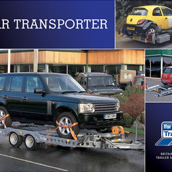 Car Transporter Range - View and Order Ifor Williams Car Carrying Trailers | Tuer Trailers