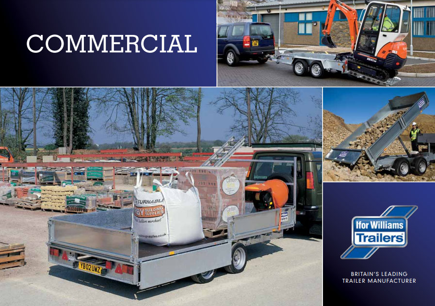 Ifor Williams Commercial Trailers - Call Us to Order   Tuer Trailers