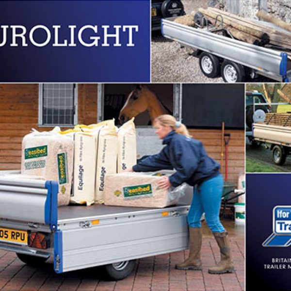 Eurolight Flatbed Trailers - For Commercial & Domestic Use | Tuer Trailers